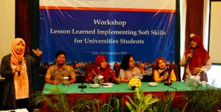 WORKSHOP LESSON LEARNED IMPLEMENTING SOFT SKILL FOR UNIVERSITIES STUDENTS 2019 USAID RWAP